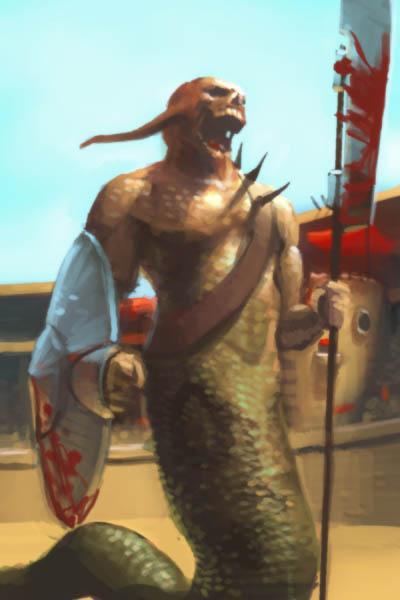 DSG 127: Creature meant for gladiator/arena combat