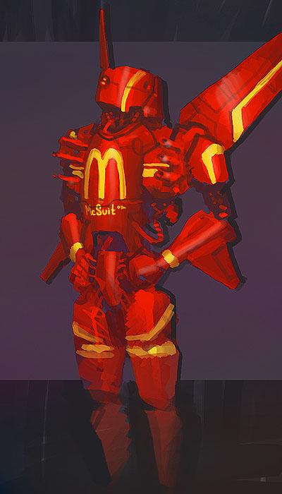 [ DSG EU ] 044: Character Design: Mech suit