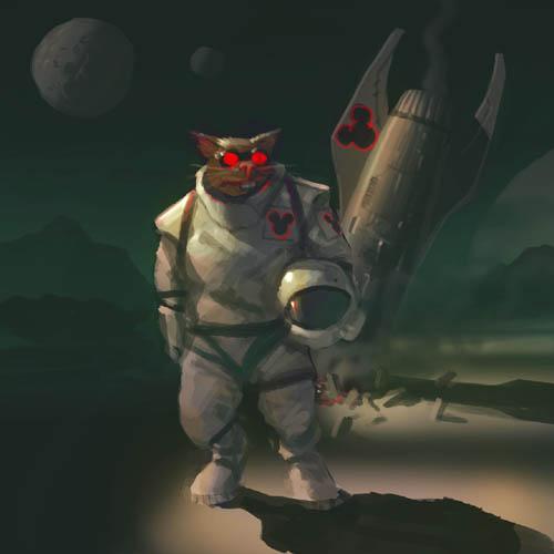 DSG 120: Space/Mutant rodent